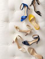 Talbots Trulli Ankle-Strap Sandals-Metallic Leather