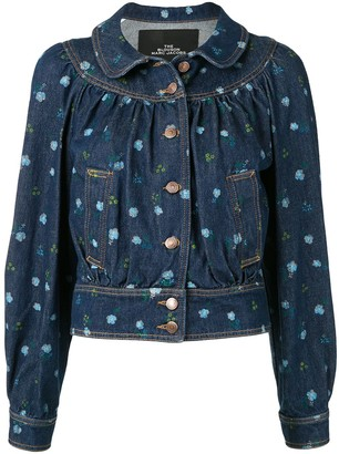 Marc Jacobs Floral Denim Jacket