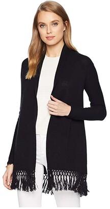 Lilly Pulitzer Tatum Cardigan (Onyx) Women's Sweater