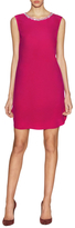 Magaschoni Washed Silk Embellished Shift Dress