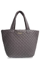 M Z Wallace 'Medium Metro' Quilted Oxford Nylon Tote - Black