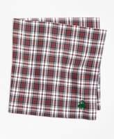 Brooks Brothers Dress Stewart Tartan Pocket Square