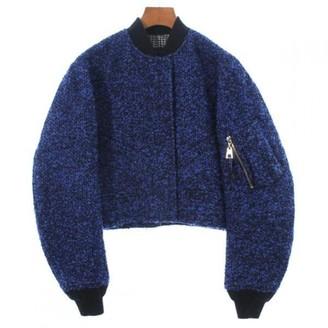 Louis Vuitton Blue Wool Coats