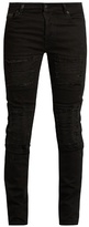Marcelo Burlon County of Milan Distressed slim-leg jeans
