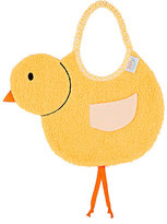Zigozago Chick Bib-YELLOW