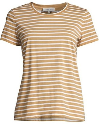 Lafayette 148 New York The Modern Stripe T-Shirt