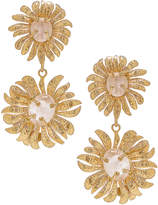 Christie Nicolaides Evelynne Earrings in Gold & Pink | FWRD