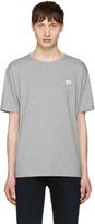 Acne Studios Grey Niagara Face T-shirt