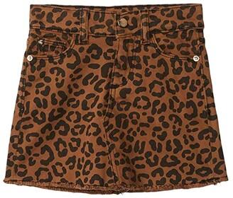 DL1961 Kids Jenny Skirt in Jaguar (Toddler/Little Kids) (Jaguar) Girl's Skirt
