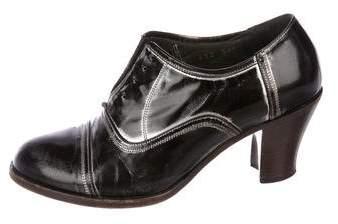 Dries Van Noten Leather Oxford Pumps