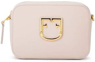 Furla Shoulder Bag Model Brava Mini In Linen Color Leather