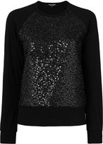 Junya Watanabe Wool Sweater With Paillettes