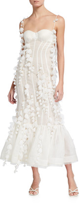 Zimmermann Botanica Sleeveless Petal Gown