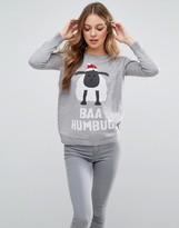 Brave Soul Baa Humbug Sheep Holidays Sweater