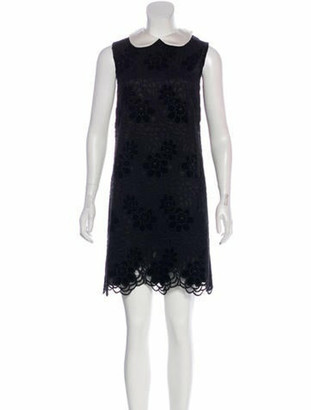 Dolce & Gabbana Lace Mini Dress w/ Tags Black