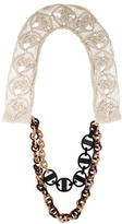 Marni Resin Link Collar Necklace