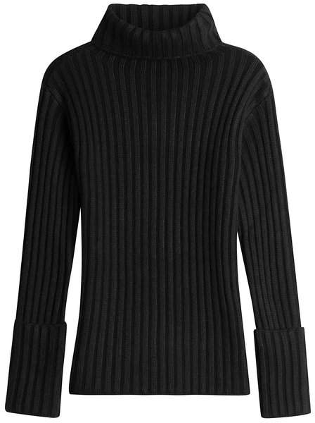 Valentino Ribbed Turtleneck with Wool and Cashmere