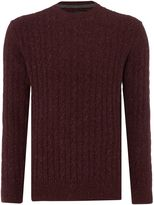 Barbour Essential Cable Crew Neck Jumper