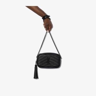 Saint Laurent Black Lou quilted leather mini bag