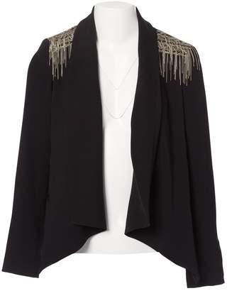 Haute Hippie Black Polyester Jackets