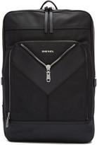 Diesel Black Mr. V Backpack