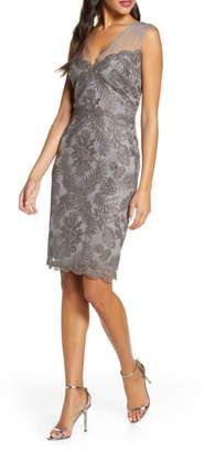 Tadashi Shoji Sleeveless Lace Sheath Dress