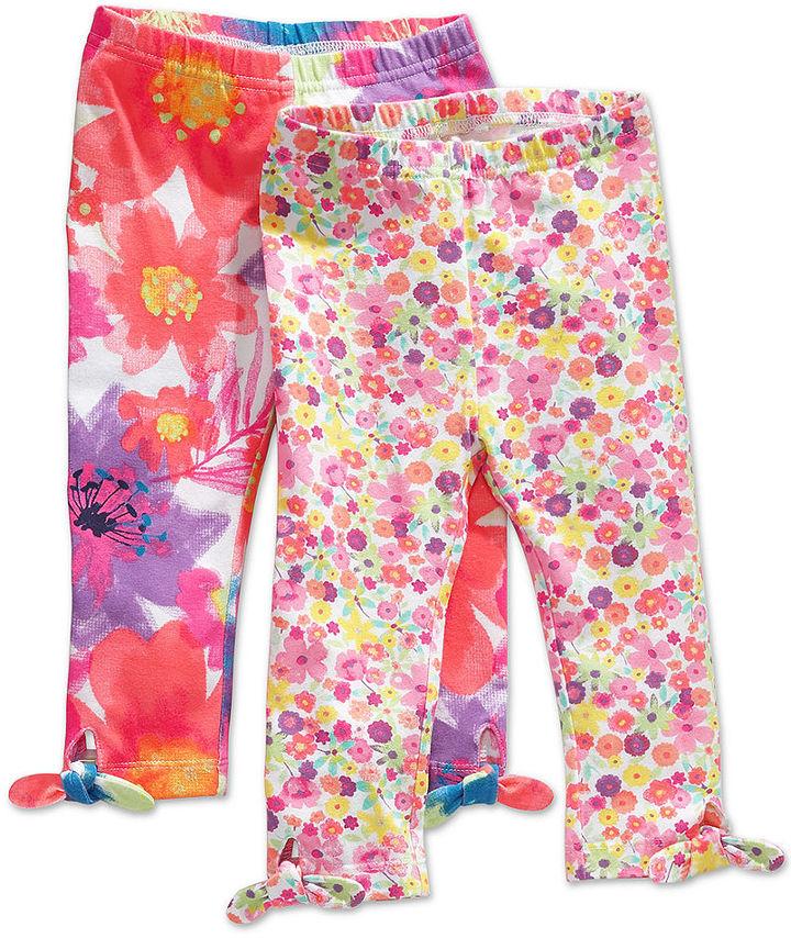 First Impressions Baby Playwear, Baby Girls Print Leggings