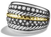David Yurman Midnight Mélange Ring with Diamonds