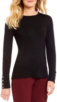 Investments Long Sleeve Crew Neck Sweater