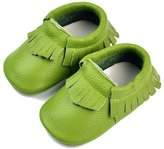 DADAWEN Kids Child Unisex Moccasins Slip-on Shoes Infant, Babies & Toddlers Shoes for Girls and Boys - M (6-12 Month)