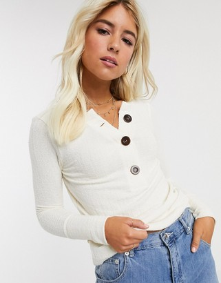 Free People oliver henley layering top-Cream