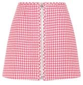 Prada Virgin Wool Miniskirt