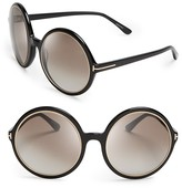Tom Ford Carrie Oversized Round Sunglasses