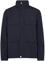 Ps By Paul Smith Navy Cotton Shell Jacket