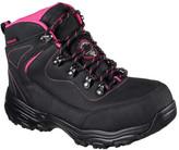 Skechers Women's D'Lites Slip Resistant Amasa Alloy Toe Boot