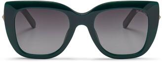 Mulberry Keeley Sunglasses Black Acetate