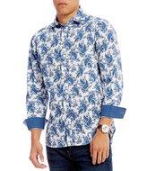 Daniel Cremieux Jeans Big & Tall Paisley Long-Sleeve Woven Shirt