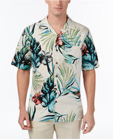 Tasso Elba Men's Retreat Tropical Print Shirt, Only at Macy's
