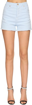 Alexandre Vauthier Stretch Denim Shorts