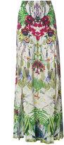 Camilla exotic print palazzo pants - women - Silk - 12