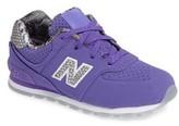 New Balance Kid's 574 Core Plus Sneaker