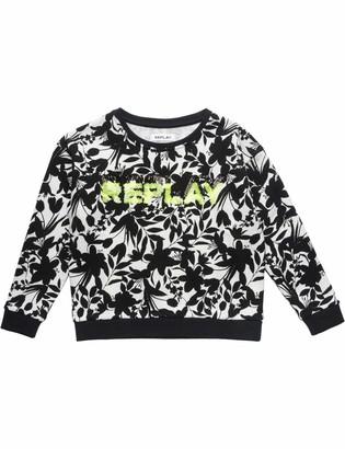 Replay Girl's Sg2084.054.22072ka Sweatshirt