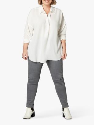 Live Unlimited Monaca Twill Shirt, White
