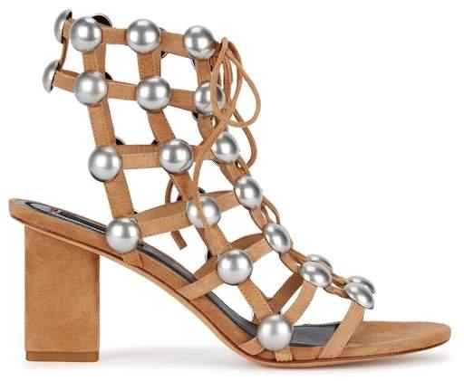 Alexander Wang Rainey Studded Suede Sandals
