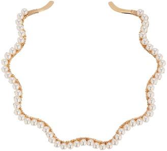 Beck Jewels A Bigger Splash Pearl Choker