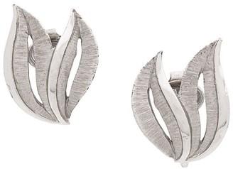 Susan Caplan Vintage 1960's Trifari clip-on earrings