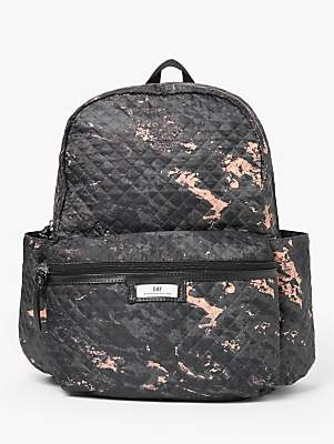 DAY et Gweneth Quilted Backpack, Marble Black