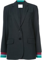 Tibi Dempsey suiting blazer - women - Cotton/Polyamide/Polyester/Wool - 4