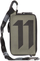 11 By Boris Bidjan Saberi logo print belt bag - men - Polyamide - One Size
