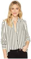 Amuse Society Quiet Lights Woven Top Women's Clothing